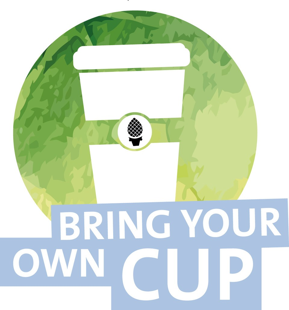 "Logo ""Bring your own cup"""
